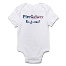 Firefighter Boyfriend Infant Bodysuit