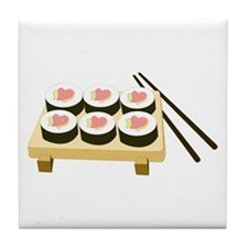 Sushi Love Tile Coaster