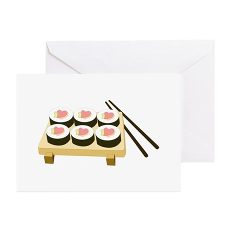 Sushi Love Greeting Cards (Pk of 10)