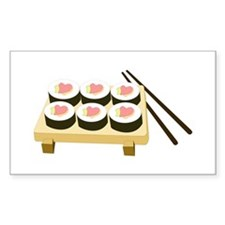 Sushi Love Rectangle Decal
