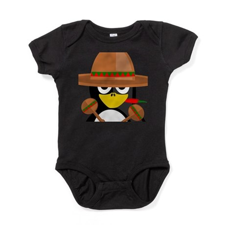 Mexican Penguin Baby Bodysuit
