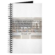 James 1:27 Journal