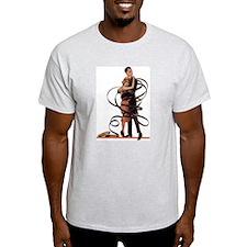 Roll It! Ash Grey T-Shirt