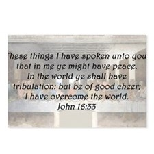 John 16:33 Postcards (Package of 8)