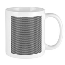 black white zig zags Mug