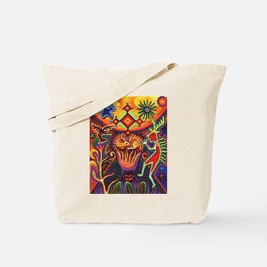 Shaman Red Deer 1 Tote Bag