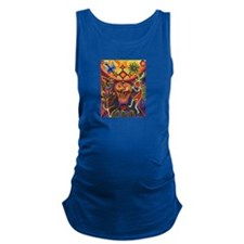 Shaman Red Deer 1 Maternity Tank Top