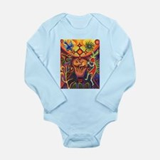 Shaman Red Deer 1 Long Sleeve Infant Bodysuit