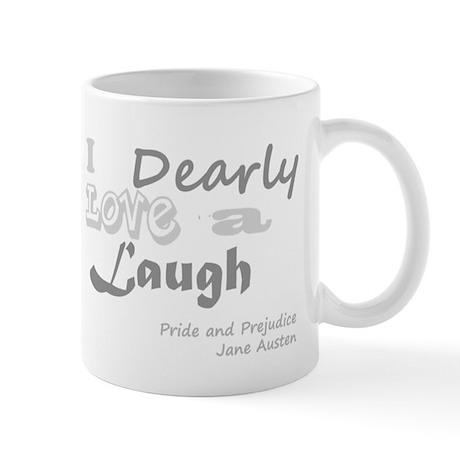 Love a Laugh - Jane Austen Mug