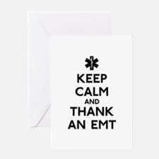 Thank An EMT Greeting Card