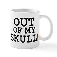 OUT OF MY SKULL! Small Mug