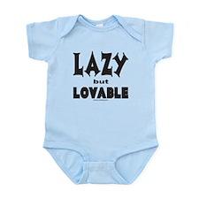LAZY BUT LOVABLE Infant Bodysuit
