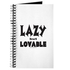 LAZY BUT LOVABLE Journal