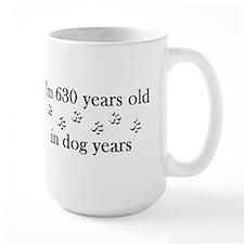 90 birthday dog years 4-2 Mug