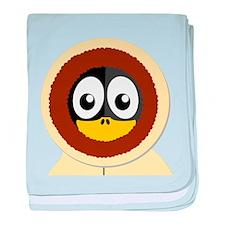 Eskimo Penguin baby blanket
