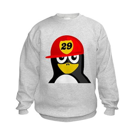 Firefighter Penguin Sweatshirt