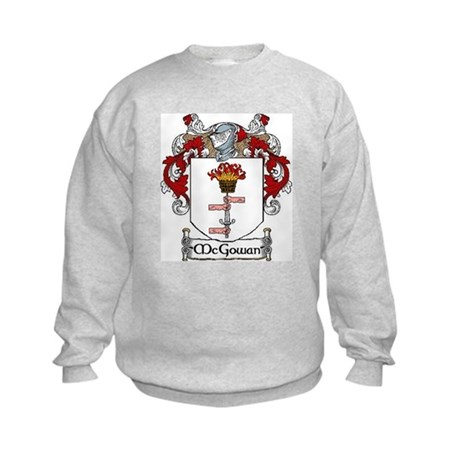 McGowan Coat of Arms Kids Sweatshirt