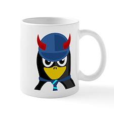 Evil Boss Penguin Small Mug