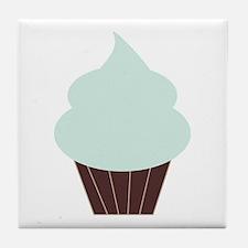 Cute Cupcake Tile Coaster