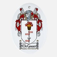 McGowan Coat of Arms Oval Ornament