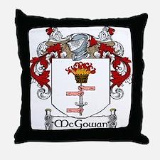 McGowan Coat of Arms Throw Pillow