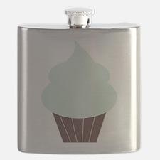 Cute Cupcake Flask