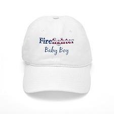 Firefighter Baby Boy Baseball Cap