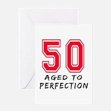 51 Year birthday designs Greeting Card