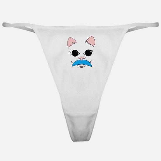 Mustache cat Classic Thong