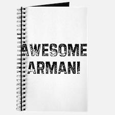 Awesome Armani Journal