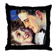 Pleasure Bent Throw Pillow
