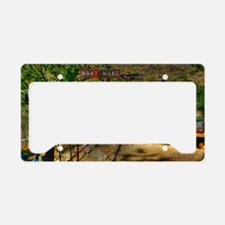 Route 66 License Plate Holder