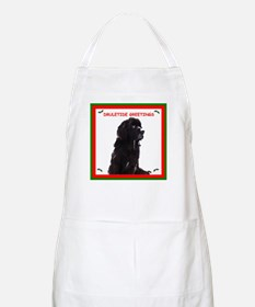 Newfy Drool Holiday dRuletide Greetings BBQ Apron