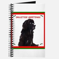 Newfy Drool Holiday dRuletide Greetings Journal