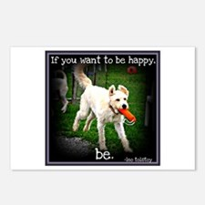 Be Happy Postcards (Package of 8)