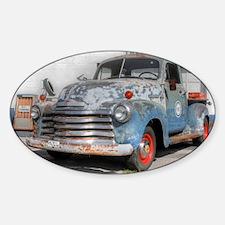 Old Truck II Sticker (Oval)