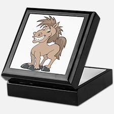 Happy Smiling Horse Keepsake Box