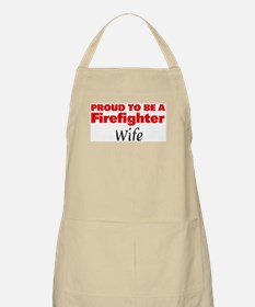 Proud Wife: Firefighter BBQ Apron