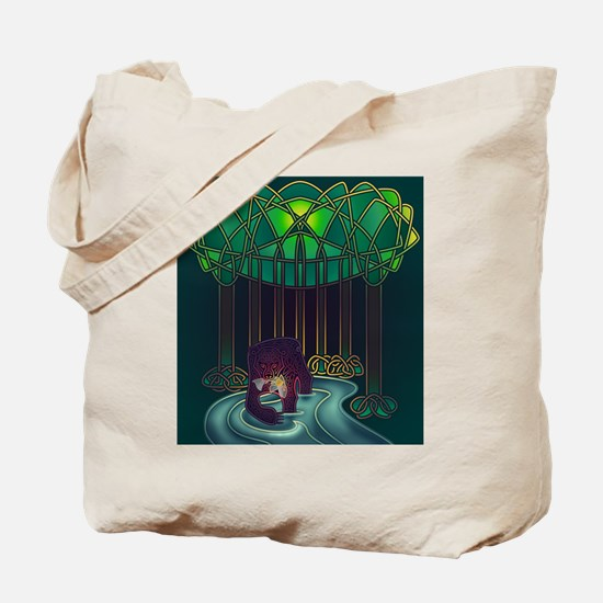 Fae Bear of WIsdom Tote Bag
