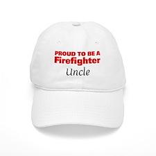 Proud Uncle: Firefighter Baseball Cap