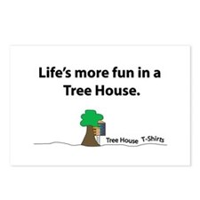 The Tree House Brand Postcards (Package of 8)