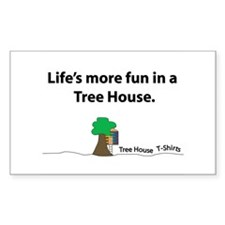 The Tree House Brand Rectangle Decal
