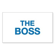The Boss Decal