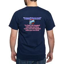 Triviasaurus I Wasn't Born Yet T-Shirt