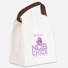 Personalized NCIS Chick Canvas Lunch Bag
