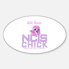 Personalized NCIS Chick Decal
