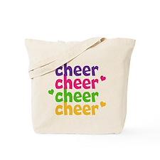 Cheer Hearts Tote Bag