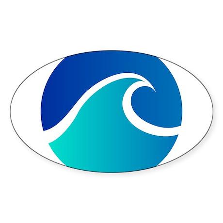 Wave - Summer - Travel Sticker
