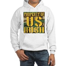 Property of US Irish Hoodie