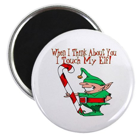 Touch My Elf Magnet